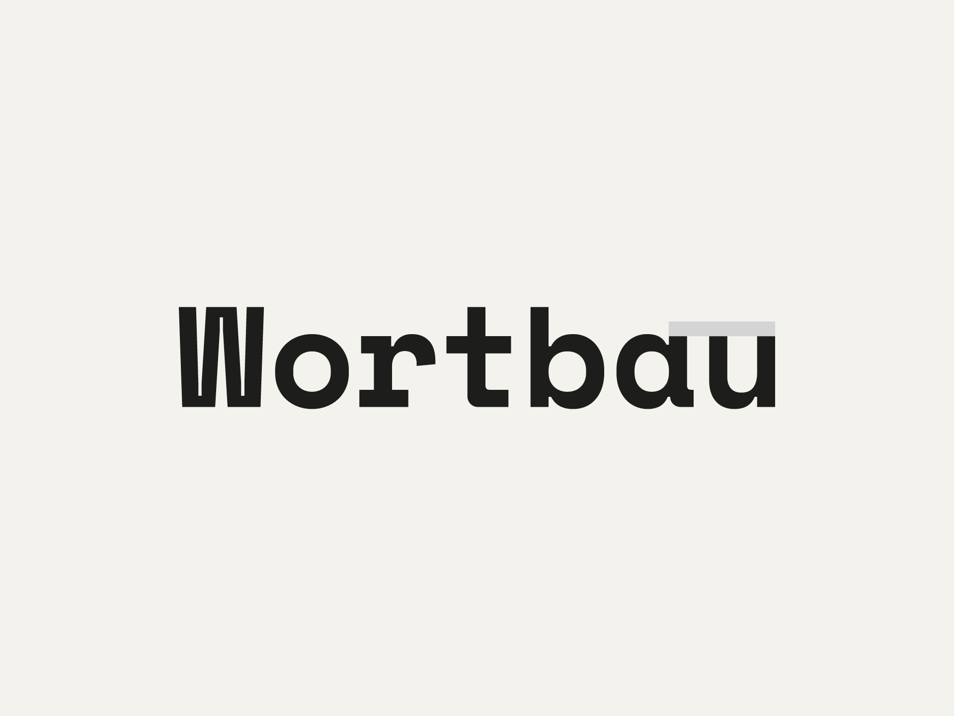 Projektbild-Website-Wortbau